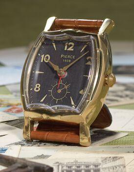 Uttermost Wristwatch Alarm Square Pierce