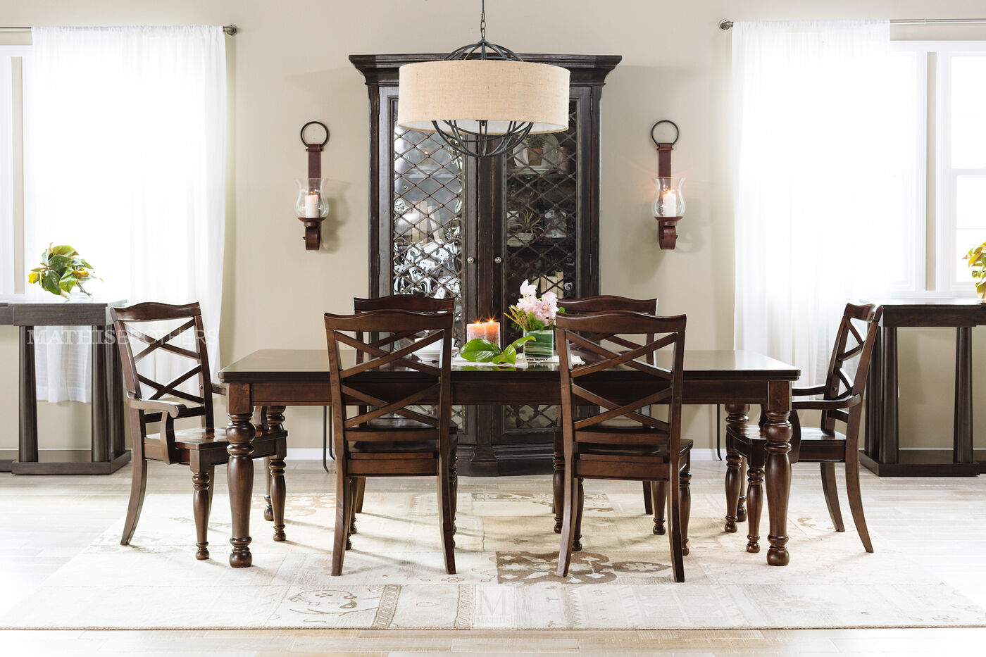 Ashley Porter Dining Table | Mathis Brothers Furniture