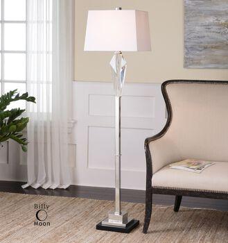 Uttermost Altavilla Cut Crystal Floor Lamp