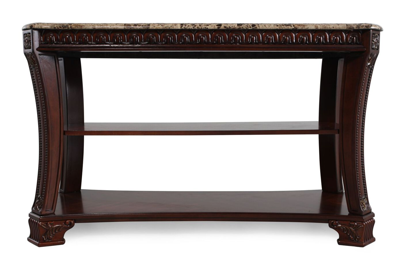 5 Console Table ~ Ashley ledelle console table mathis brothers furniture
