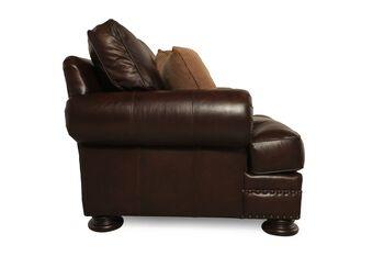 Bernhardt Foster Leather Chair