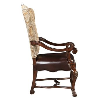 Stanley Casa D'Onore Sella Upholstered Arm Chair