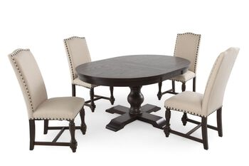 Winners Only Xcalibur Five-Piece Round Dining Set