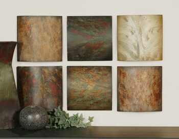 Uttermost Klum Collage Wall Art, Set/6
