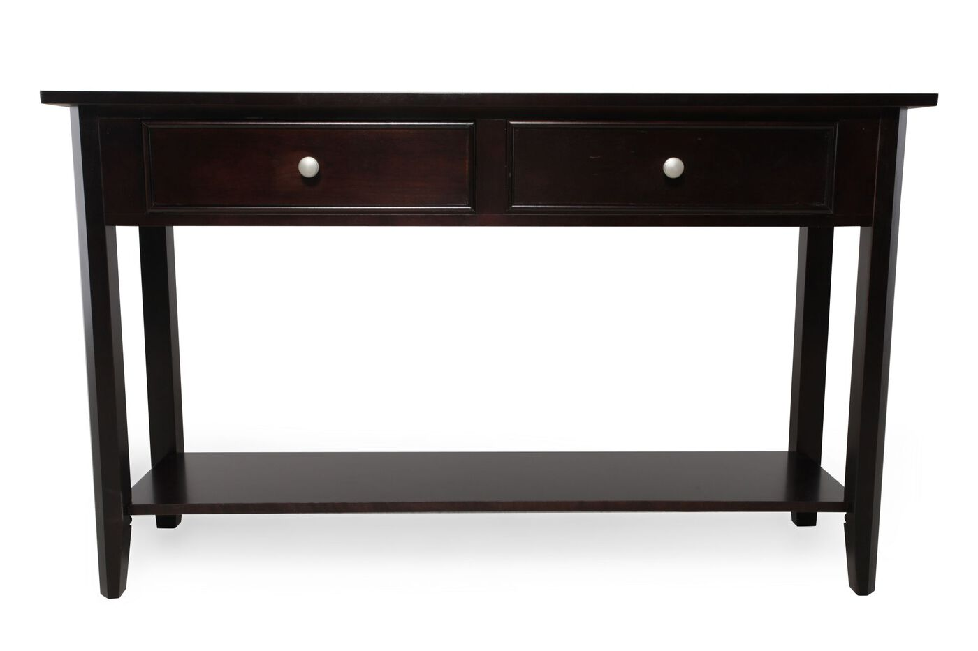 Winners only metro sofa table mathis brothers furniture for Sofa table vs console table
