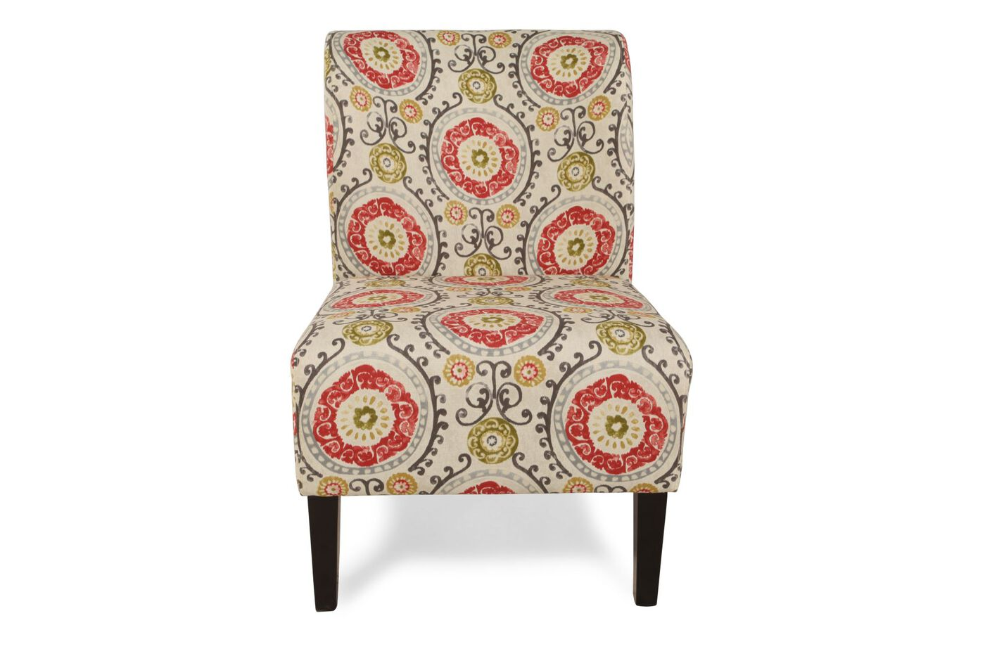 Ashley Honnally Floral Accent Chair Mathis Brothers