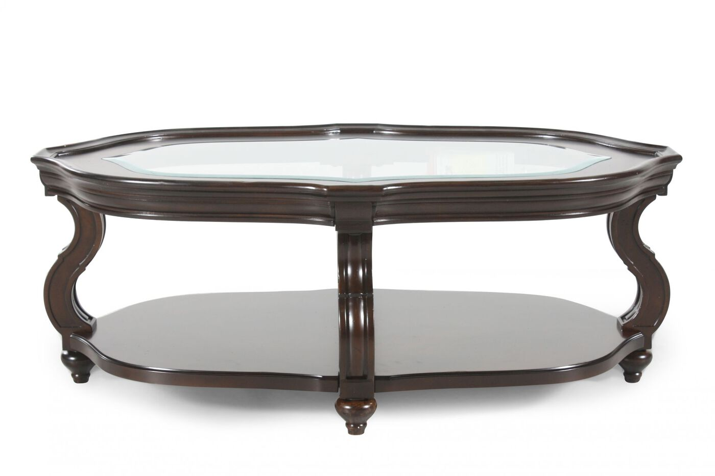 Magnussen Home Isabelle Oval Cocktail Table Mathis Brothers Furniture