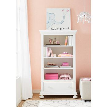 Stone & Leigh Smiling Hill Marshmallow Bookcase