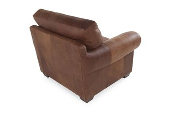USA Leather Safari Chaps Chair