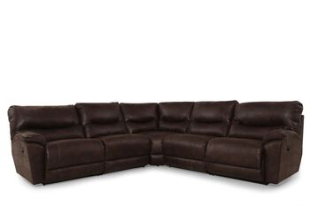 La-Z-Boy Dawson Sable Five-Piece Sectional