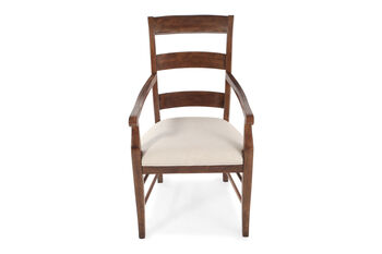 Hooker Archivist Pair of Ladder Back Arm Chairs