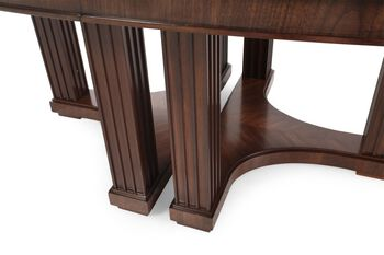 Stanley Crestaire Lola Double Pedestal Table