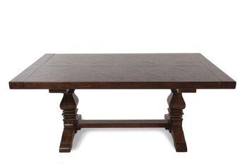 Samuel Lawrence American Attitude Double Pedestal Table