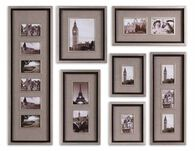 Uttermost Massena Photo Frame Collage, S/7