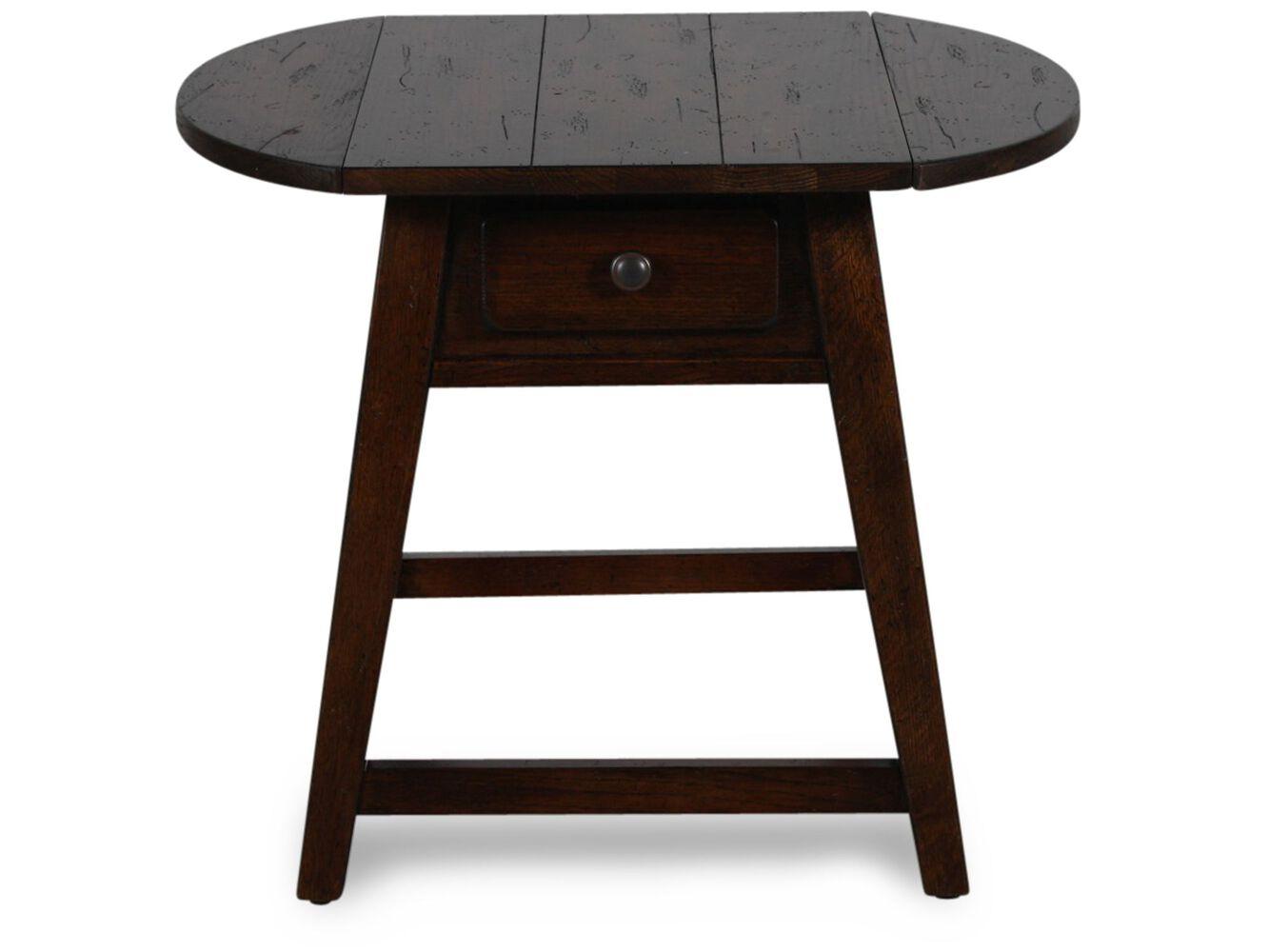 Broyhill Attic Heirloom Dining Table Broyhill Attic Heirlooms Rustic Splay Leg End Table Mathis