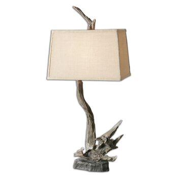 Uttermost Portland Wood Branch Lamp