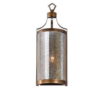Uttermost Croydon 1 Light Mercury Glass Sconce