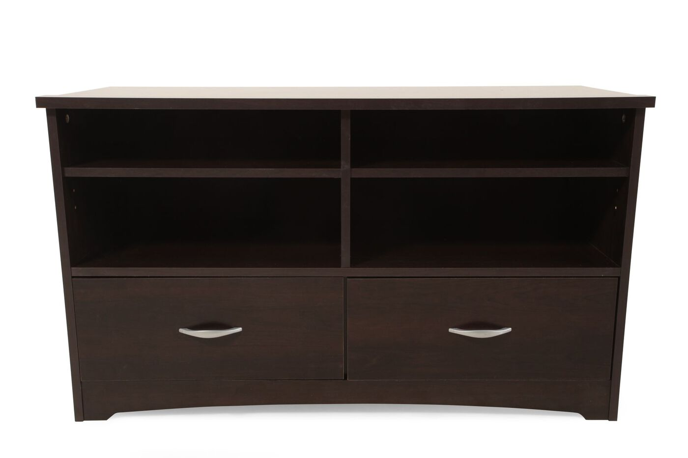 Sauder Tv Cabinet Sauder Beginnings Cinnamon Cherry Tv Stand Mathis Brothers Furniture