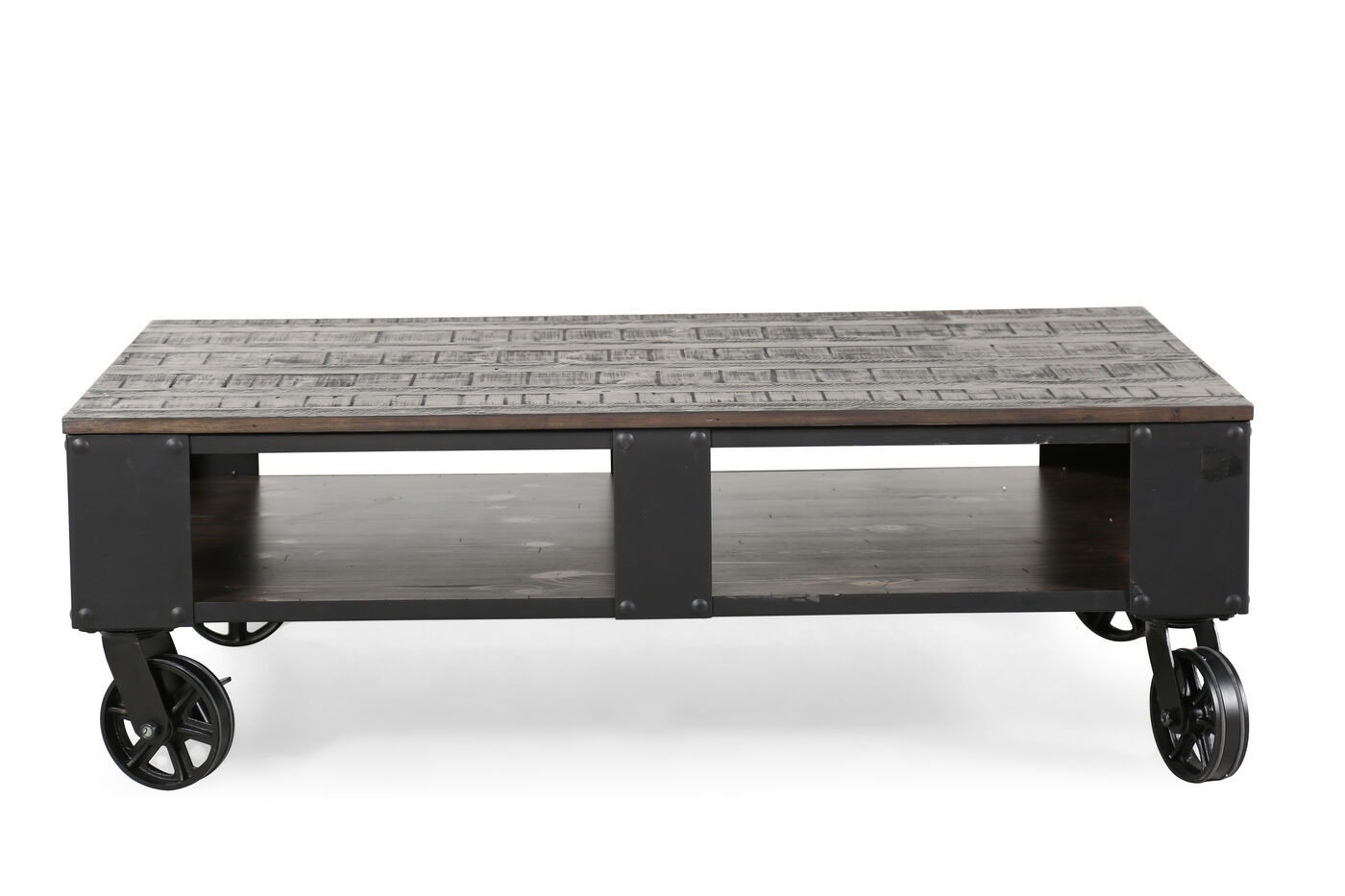 Magnussen Home Milford Cocktail Table Mathis Brothers Furniture
