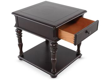 Universal Home Tobacco Finish End Table