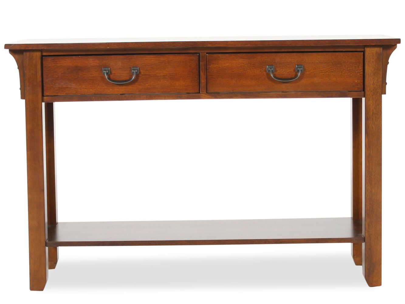 Winners only zahara sofa table mathis brothers furniture for Sofa table vs console table