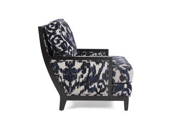 Jonathan Louis Clarice Wood Accent Chair