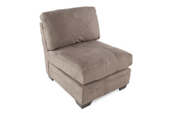 Ashley Iago Cobblestone Armless Chair