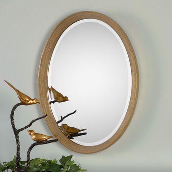 Uttermost Arena Oval Mirror