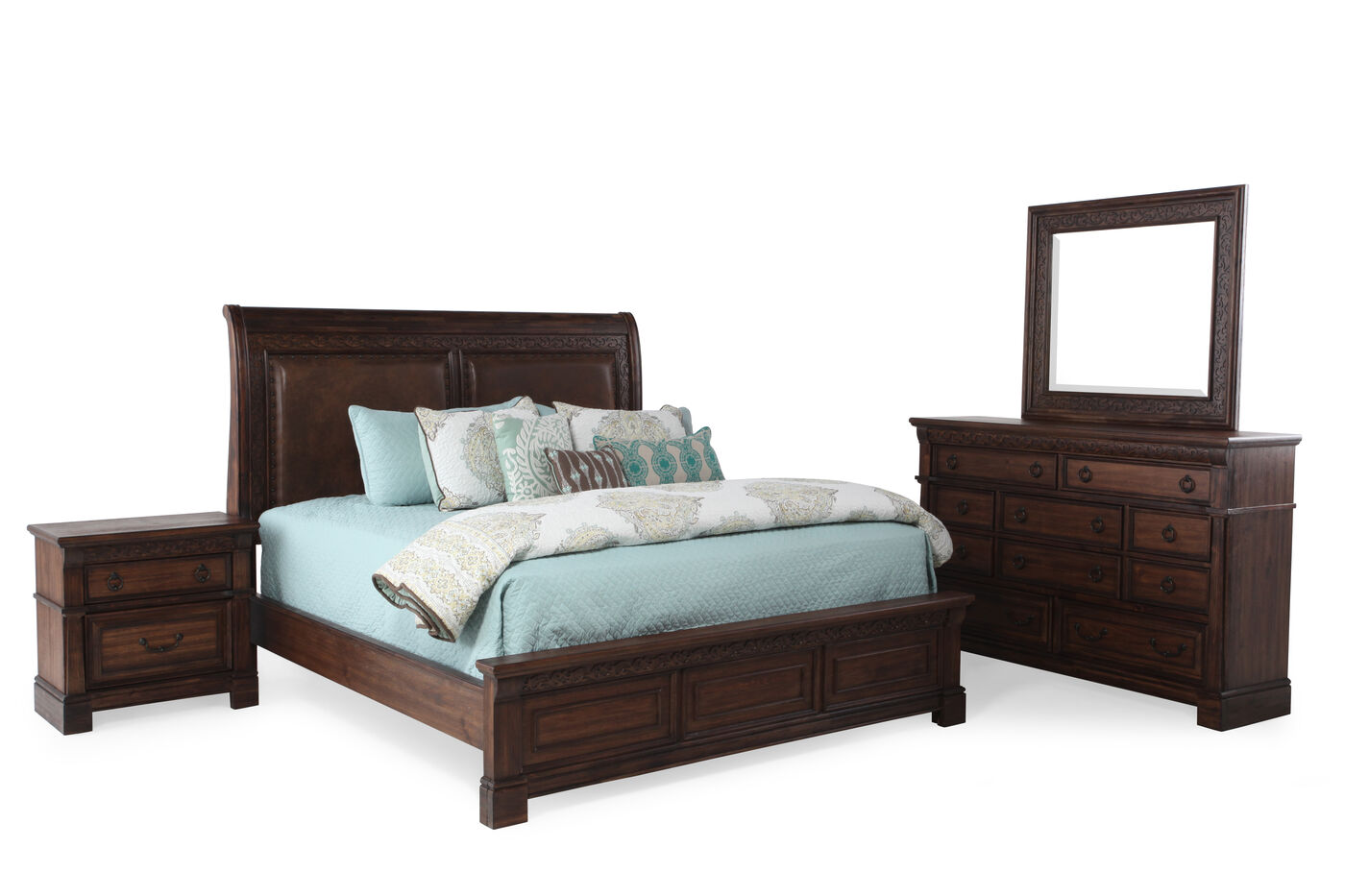 Samuel Lawrence Barcelona Bed Suite