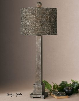 Uttermost Sedilo Burnished Bronze Lamp