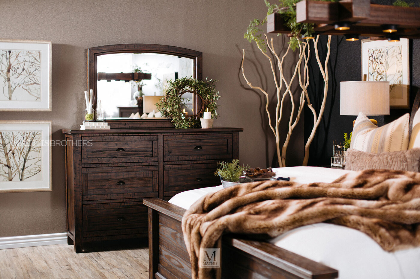 ashley trudell dresser | mathis brothers furniture