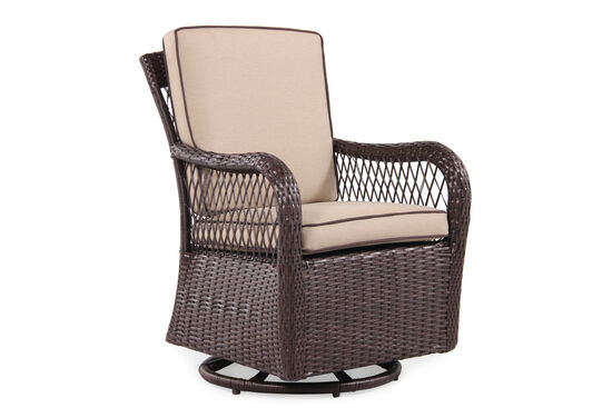 World Source Oxford Swivel Dining Chair