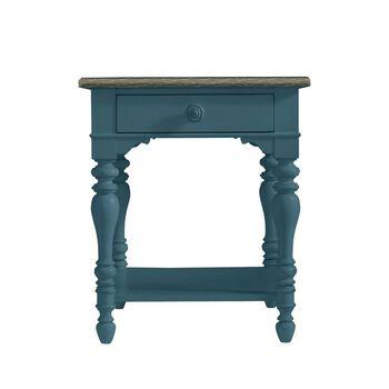 Stanley Coastal Living Retreat English Blue Lamp Table