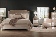 Ashley Demarlos Queen Upholstered Panel Bed