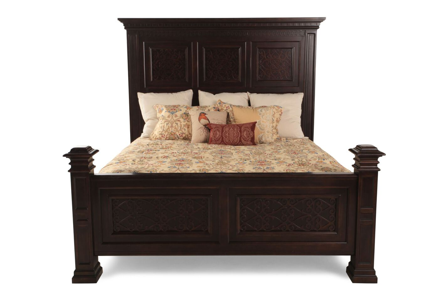 Bernhardt pacific canyon panel bed mathis brothers furniture for Bernhardt furniture