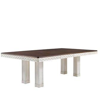 Stanley Fairlane Luna Double Pedestal Table