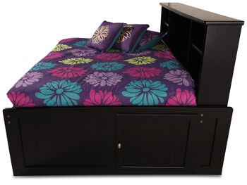Trendwood Laguna Black Cherry Roomsaver Full Bed Mathis