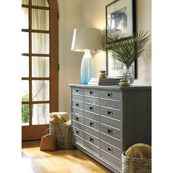 Stanley Coastal Living Resort Morning Fog Cape Comber Console Table