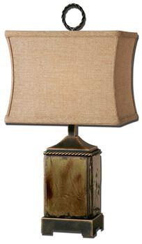 Uttermost Porano Mossy Green Buffet Lamp