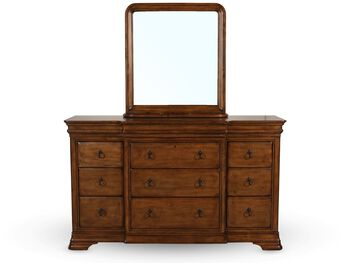Universal Pennsylvania House New Lou Dresser and Mirror