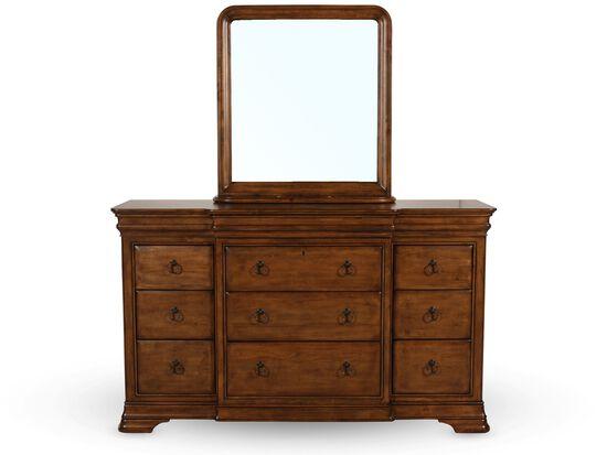 Universal Pennsylvania House New Lou Dresser And Mirror
