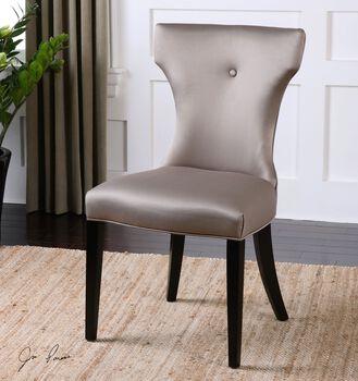 Uttermost Wynter Satin Armless Chair
