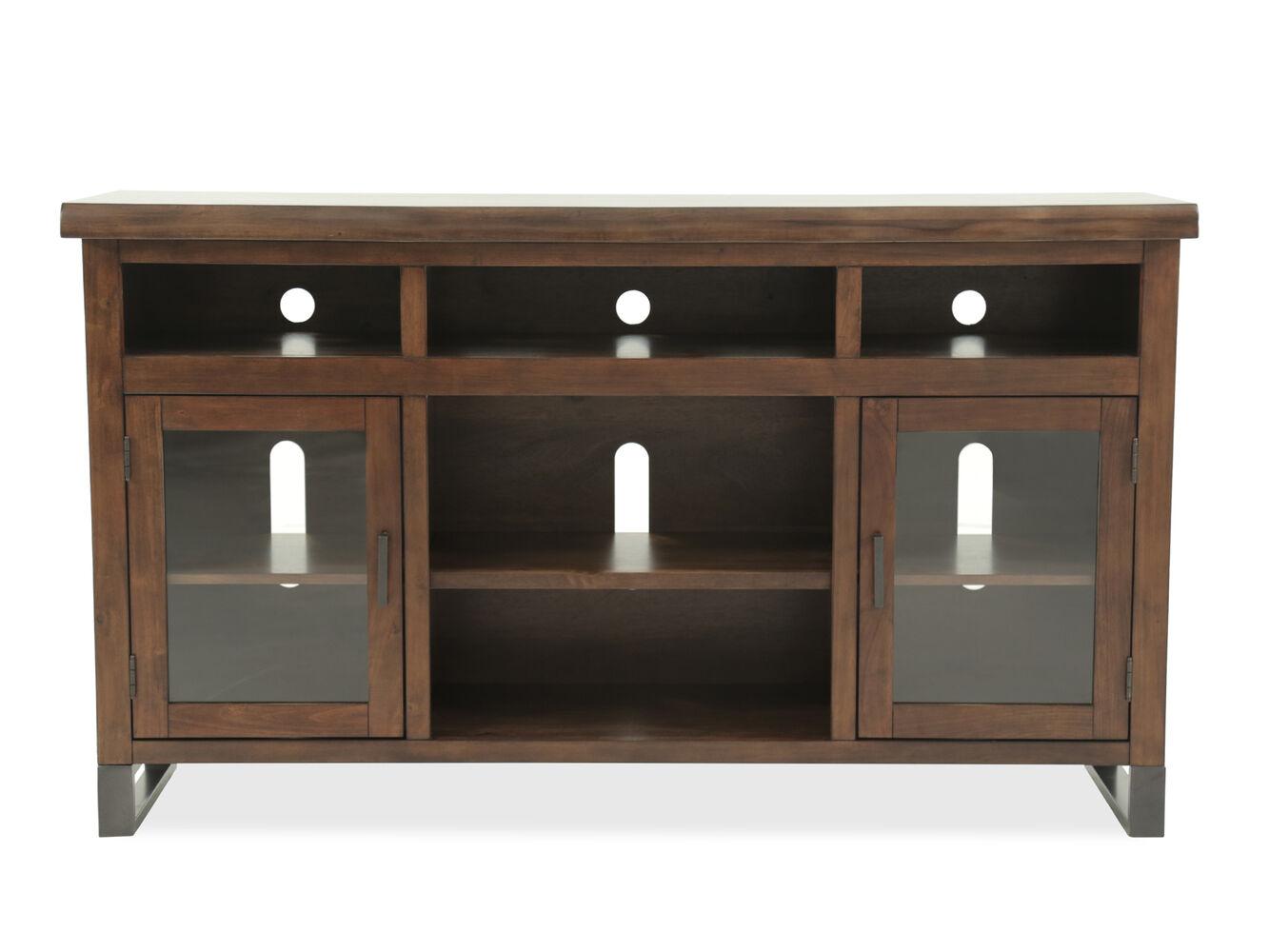 Ashley Esmarina Brown Tv Stand Mathis Brothers Furniture