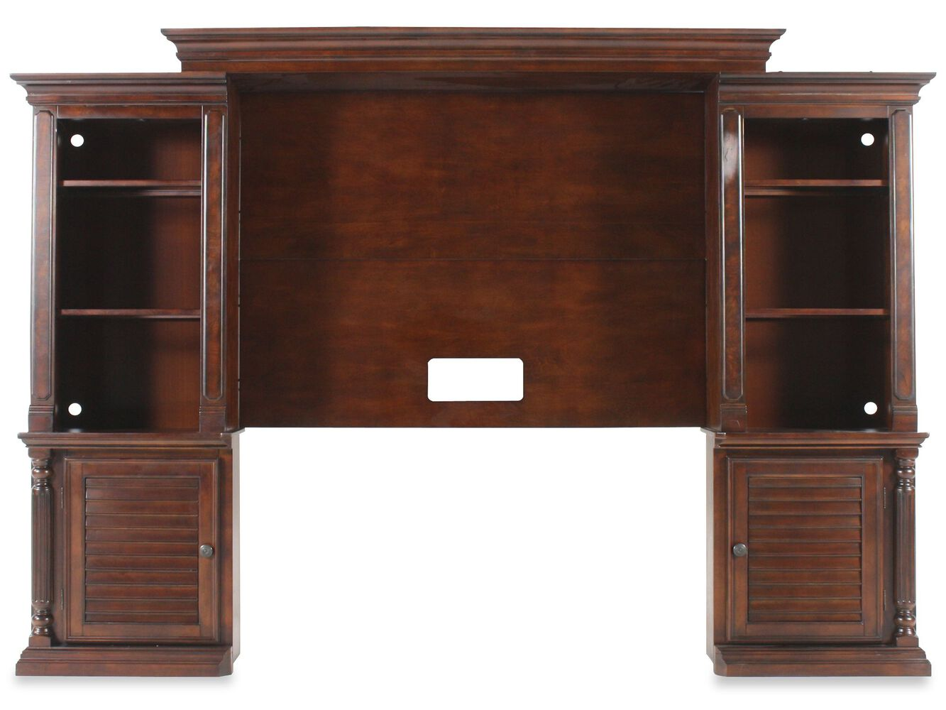 Ashley Key Town Wall Unit Mathis Brothers Furniture