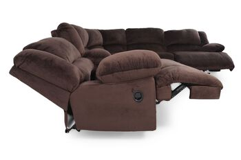 Ashley Toletta Chocolate Sectional