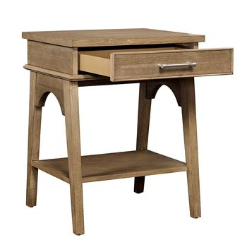 Stone & Leigh Chelsea Square French Toast Bedside Table