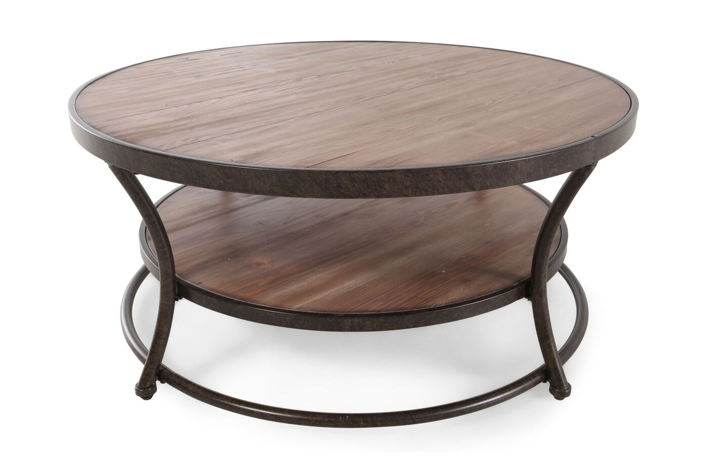 Ashley nartina round cocktail table mathis brothers Round cocktail table