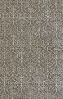 "LBJ Hand Tufted Wool/Viscose Beige 2'-6"" X 8' Runner Rug"