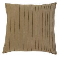 Ashley Stitched Khaki Pillow