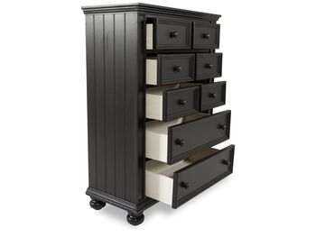 Winners Only Cape Cod Ebony Drawer Chest